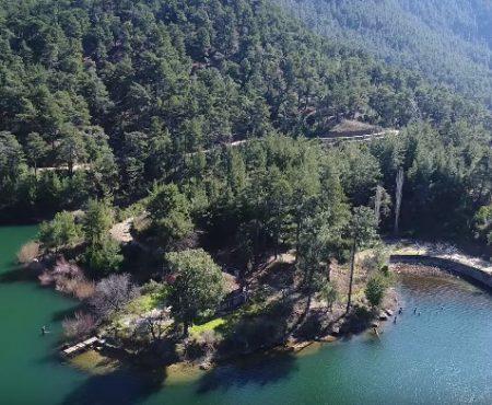 Karacaören Barajı Havadan 4K Çekim