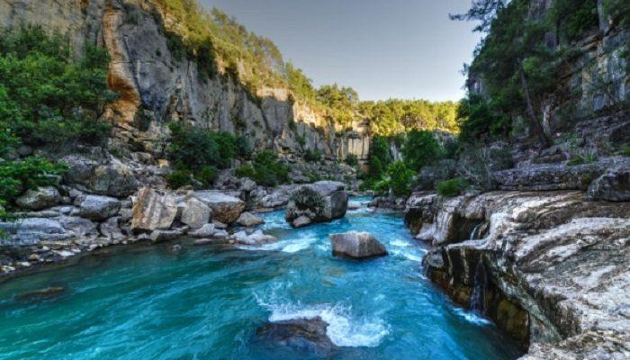 Antalya Manavgat Beşkonak Drone 4K Havadan çekim