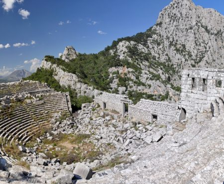 Termessos Antalya Ancient City Theater