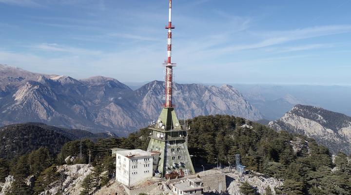 TRT Sarı Çınar Verici İstasyonu / Hisançandır Konyaaltı Antalya